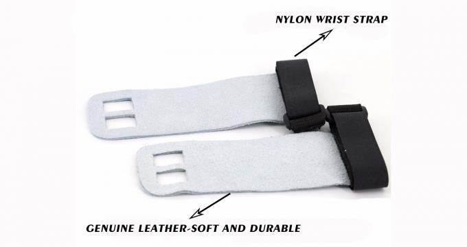 Fitness Nylon Weightlifting Wrist Wrap Gym Gloves With Wrist Support