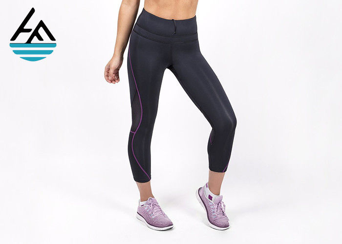 7e8e6e667d1509 Soft Neoprene Sauna Pants Hot Thermal High Waisted Workout Leggings For  Womens