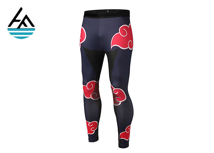 Thin Neoprene Sauna Pants , Sauna Fit Slimming Pants For Women Sublimation Printing