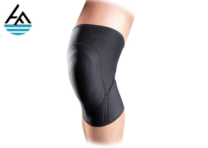 5 - 7mm Thickness Neoprene Knee Sleeve Comfortable Elastic With Great Stretch