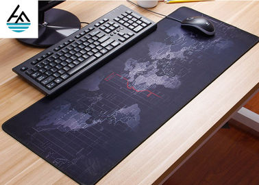 Rubber Large Computer Mouse Pad Non - Slip Waterproof Keyboard Mouse Mat