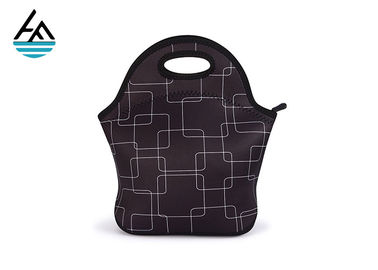 China Large Neoprene Lunch Bag  , Lunch Tote Neoprene Cooler Bag For Adults factory