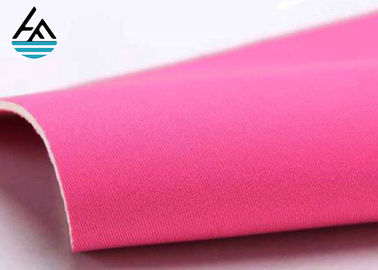 China Textured Neoprene Rubber Sheet  2-7 Mm Nylon Neoprene Rubber Rolls With Polyester Coating factory