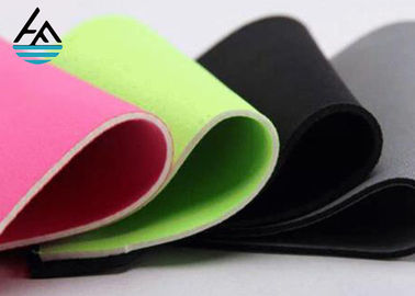 Waterproof 2mm Neoprene Fabric Sheets ,  Embossed Neoprene Rubber Sheet Fabric