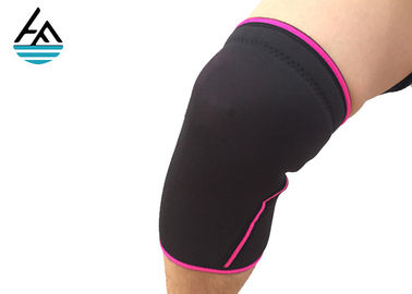 Waterproof Custom Neoprene Knee Sleeve With Protective Belt Digital Printing