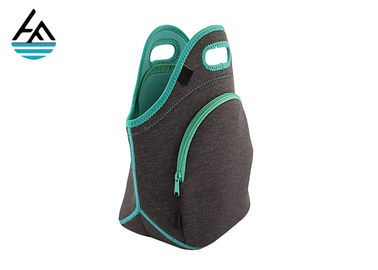 Insulated Soft Neoprene Lunch Box Bag For Children Polyester Cloth