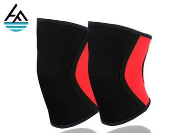 China Compression Athletic Knee Brace Basketball , Sporter Elastic Knee Sleeve Support factory