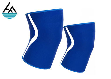 China Elastic Neoprene Knee Sleeve , Eco - Friendly Weightlifting Knee Sleeves factory