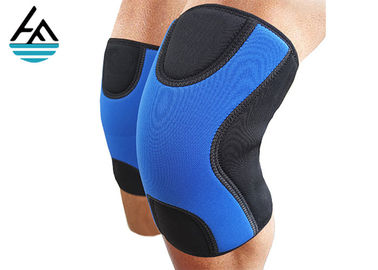 China 9mm Thickness Black Compression Neoprene Knee Sleeve Customized Size For Best Squats factory